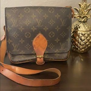 LV Cartouchiere MM bag- Authentic